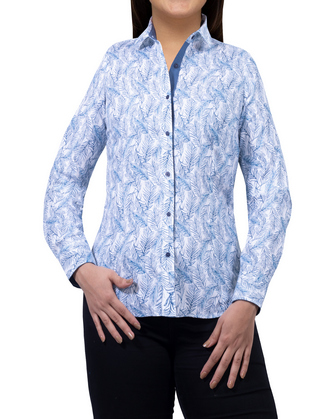 Blusa feather blue