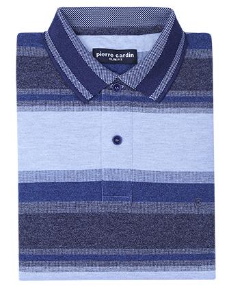 Camisa slim fit cool blue
