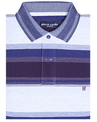 Camisa slim fit bondy blue