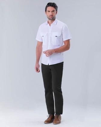 711 slim fit jeans twill stretch black brin pierre cardin