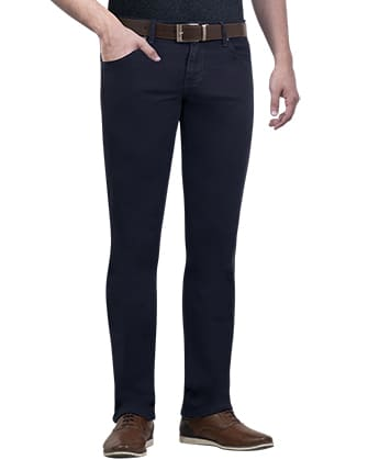 721 skinny fit jeans twill stretch azul oscuro pierre cardin