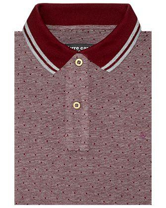 Camisa sport red garnet