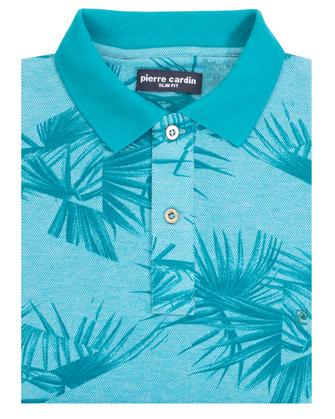 Camisa sport slim fit blue summer
