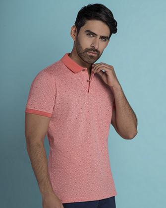 Camisa sport slim fit goby pink