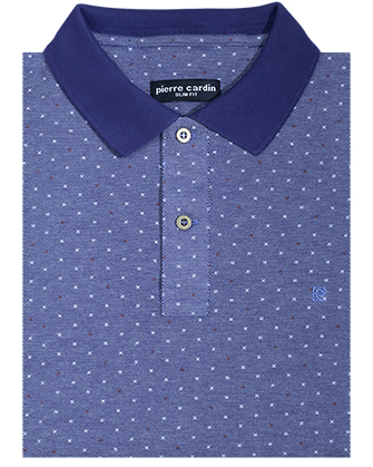 Camisa sport slim fit goby blue