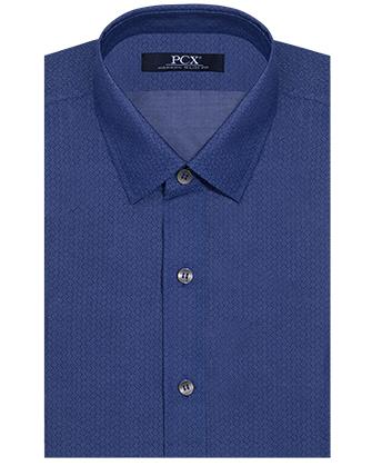 Camisa manga larga denim blue ties