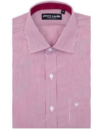 Camisa comfort stretch red lines
