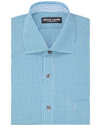 Camisa comfort stretch blue danube