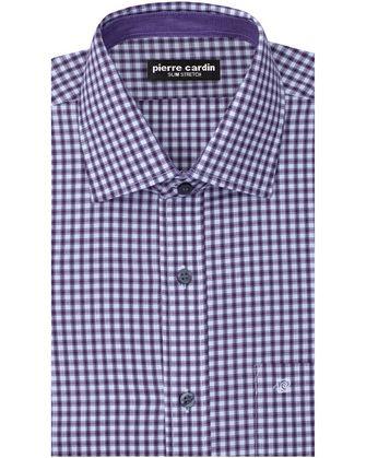 Camisa comfort stretch electric violet