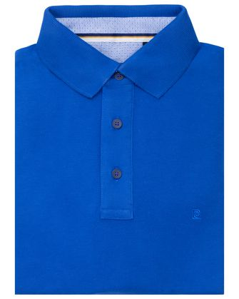 Camisa sport slim fit coral blue