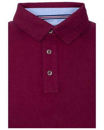 Camisa sport slim fit stretch wine